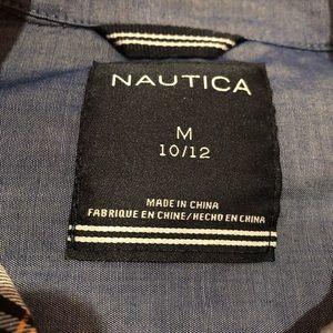 Nautica Shirts & Tops - Nautical button down shirt, boys 10-12